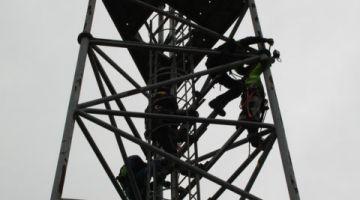 Démontage pylônes Montzen